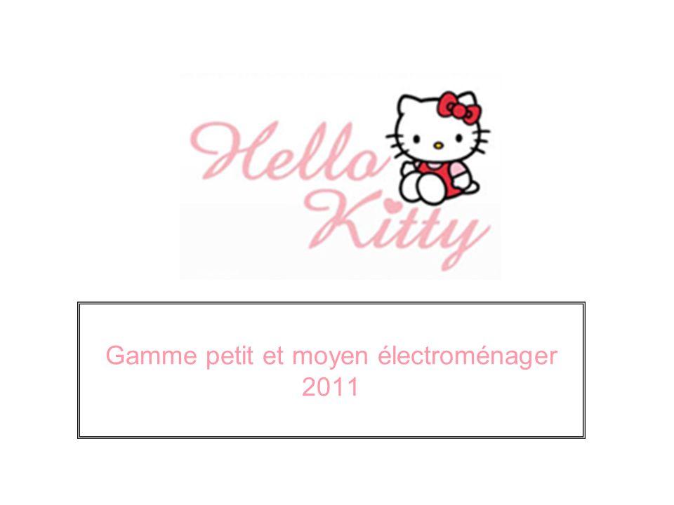 Gamme petit et moyen électroménager 2011