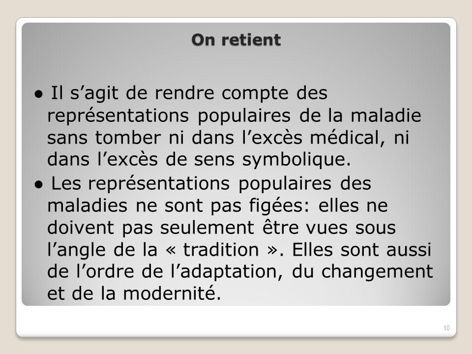 On retient