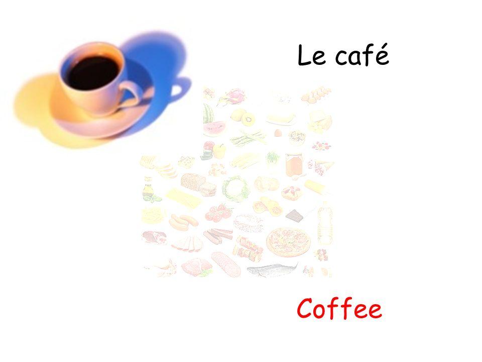 Le café Coffee