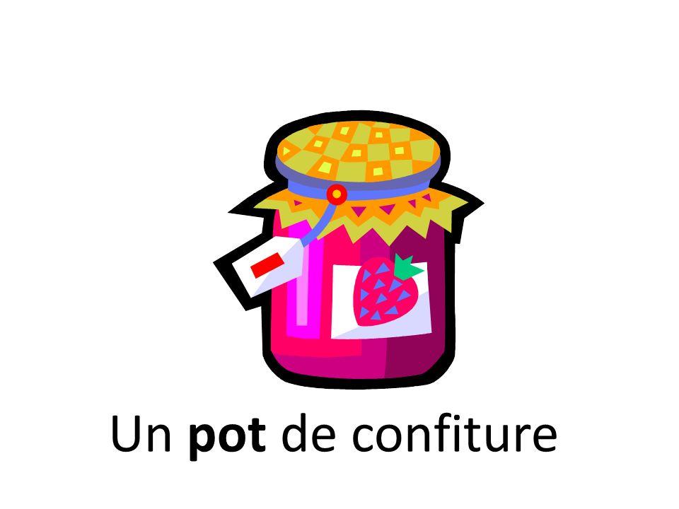Un pot de confiture