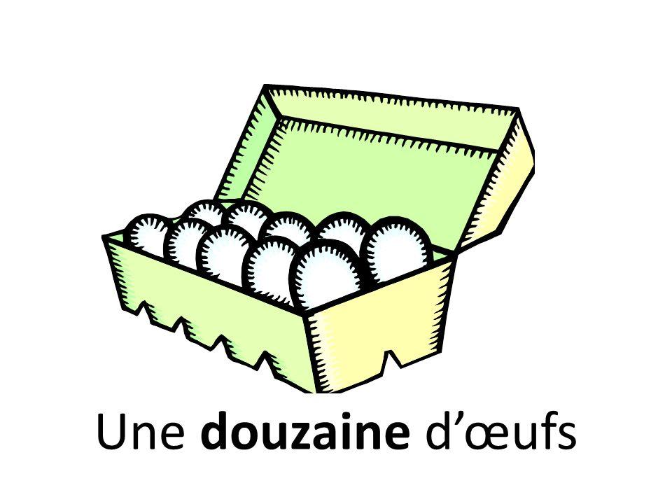 Une douzaine d'œufs