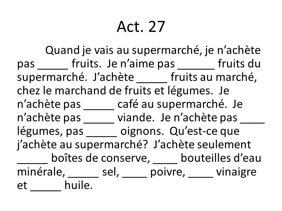 Act. 27