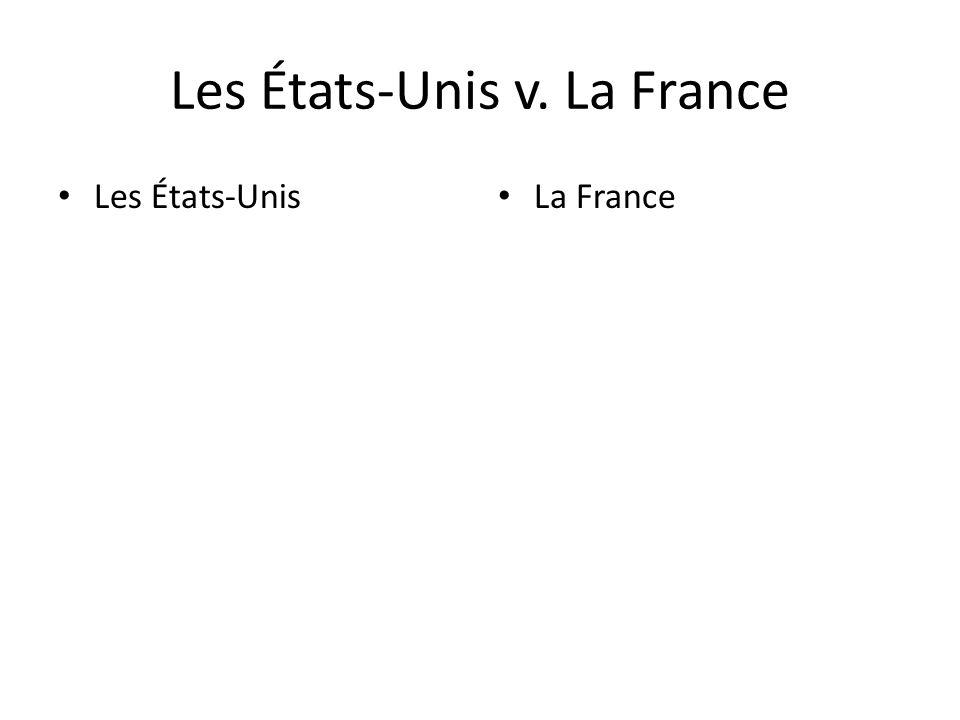 Les États-Unis v. La France
