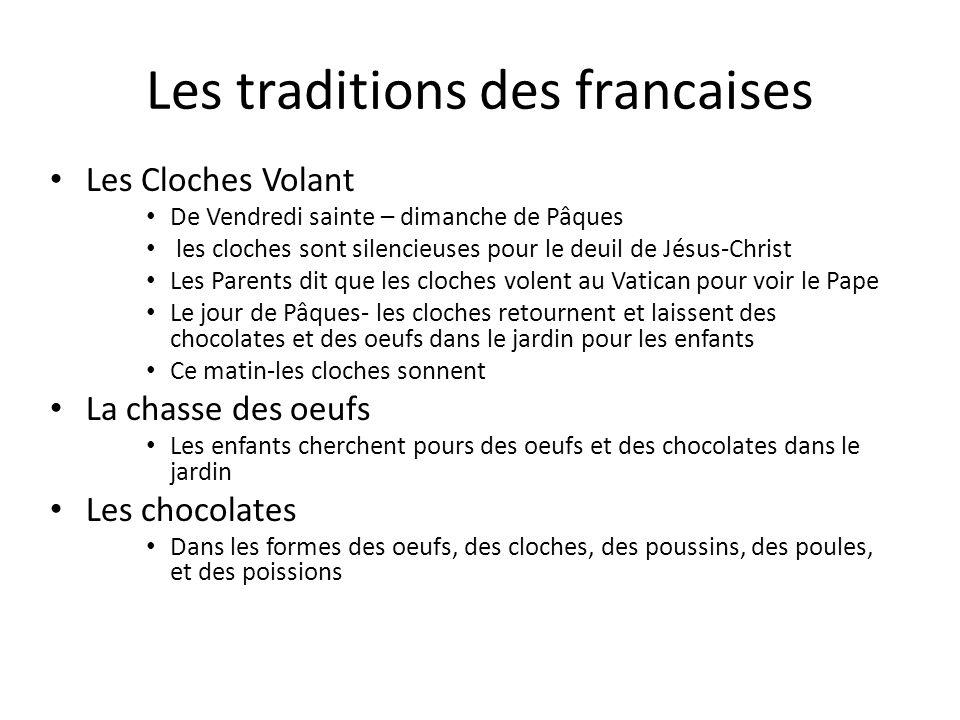 Les traditions des francaises