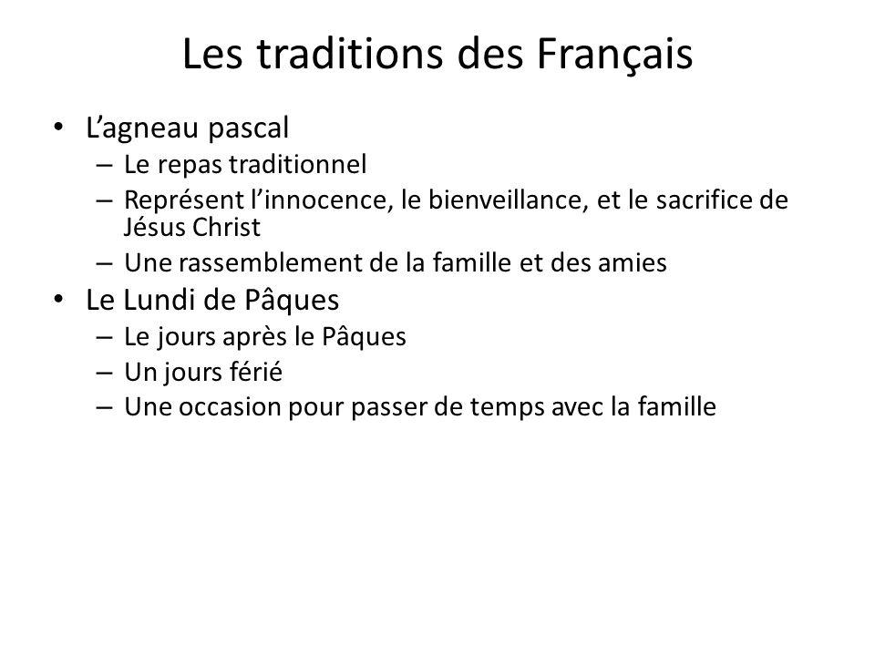 Les traditions des Français