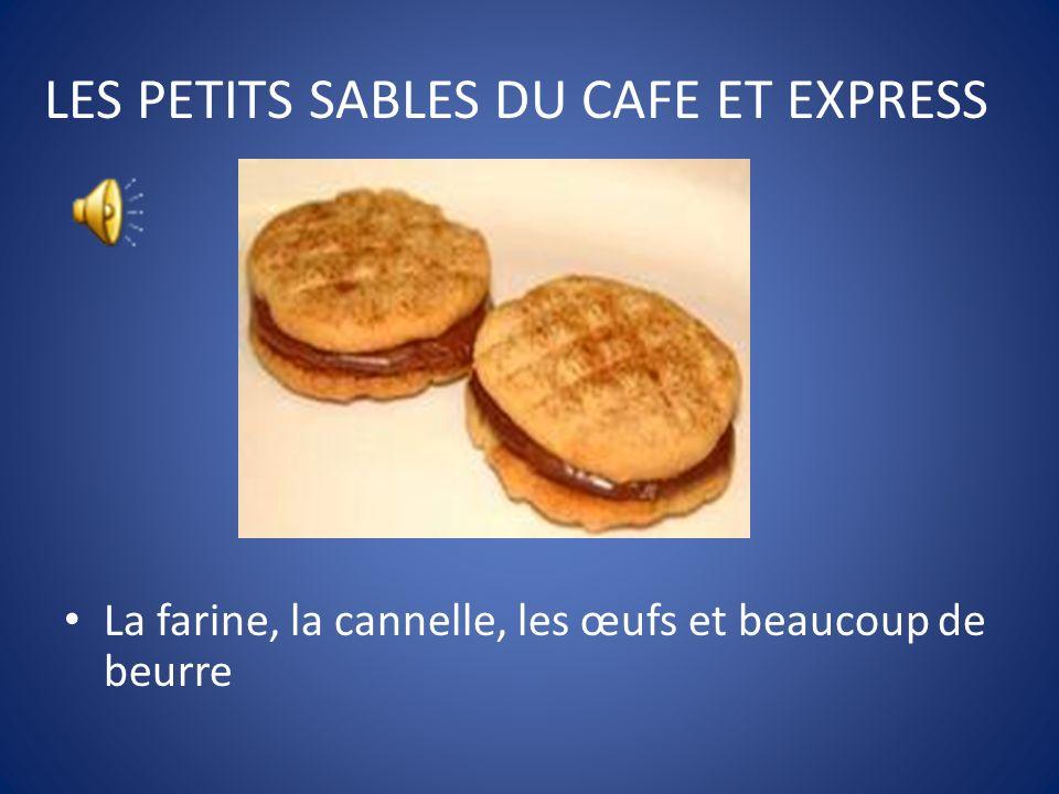 LES PETITS SABLES DU CAFE ET EXPRESS