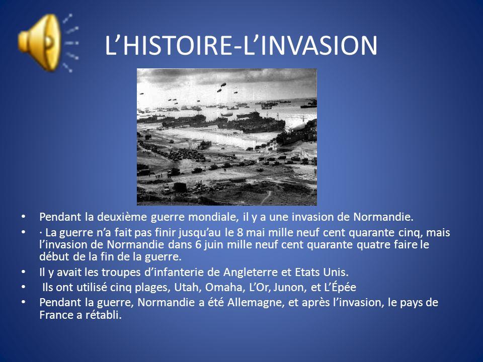 L'HISTOIRE-L'INVASION