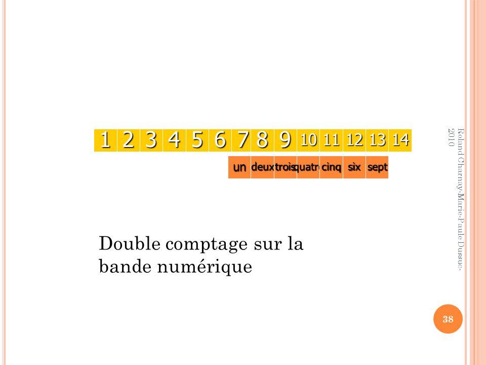 1 2 3 4 5 6 7 8 9 Double comptage sur la bande numérique 10 11 12 13