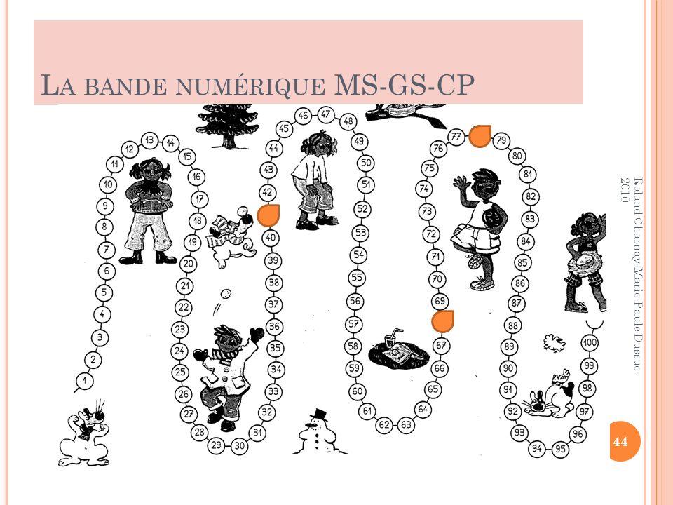 La bande numérique MS-GS-CP