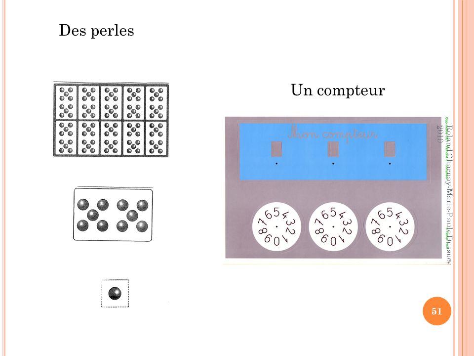 Des perles Un compteur Roland Charnay-Marie-Paule Dussuc-2010