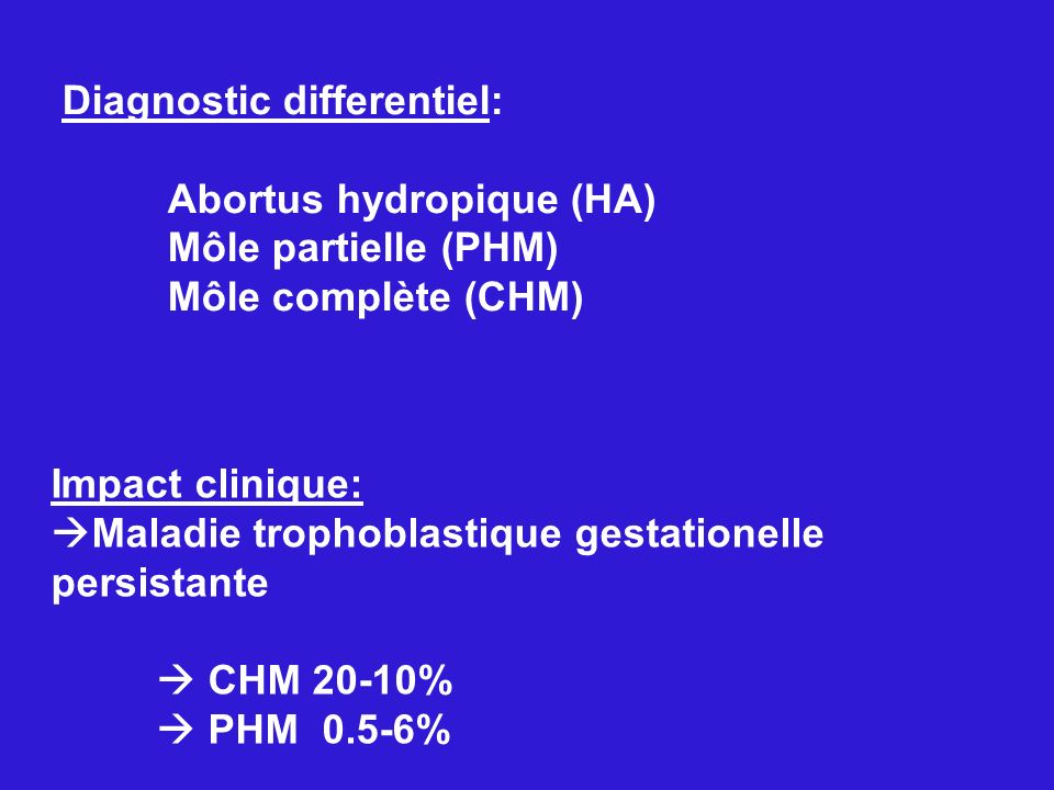 Diagnostic differentiel: