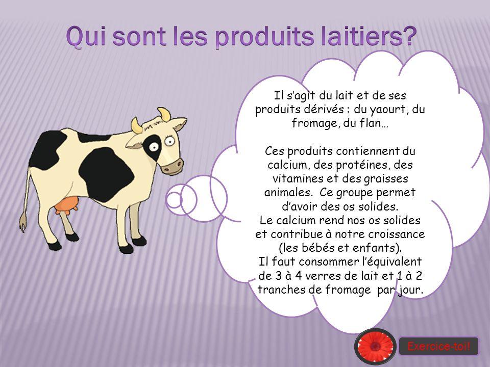 Qui sont les produits laitiers