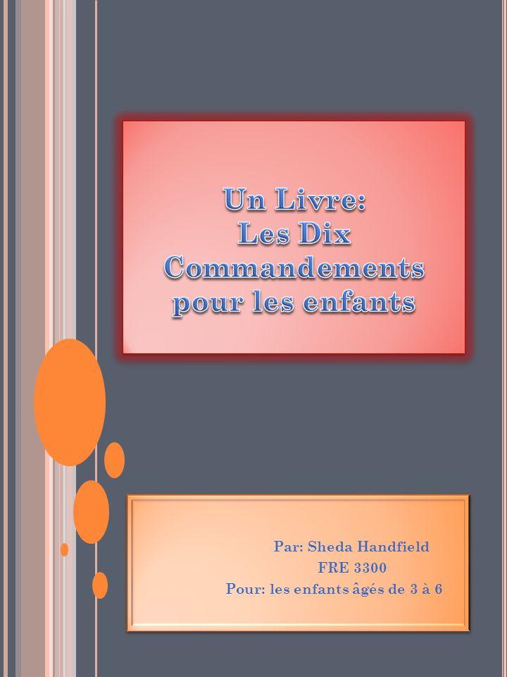 Un Livre: Les Dix Commandements pour les enfants
