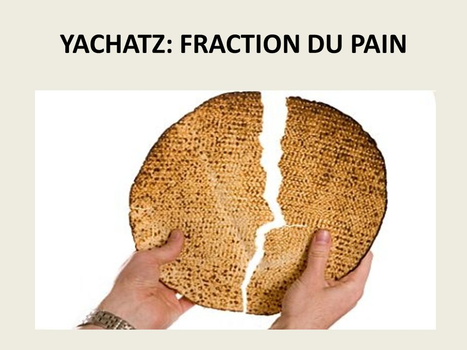 YACHATZ: FRACTION DU PAIN