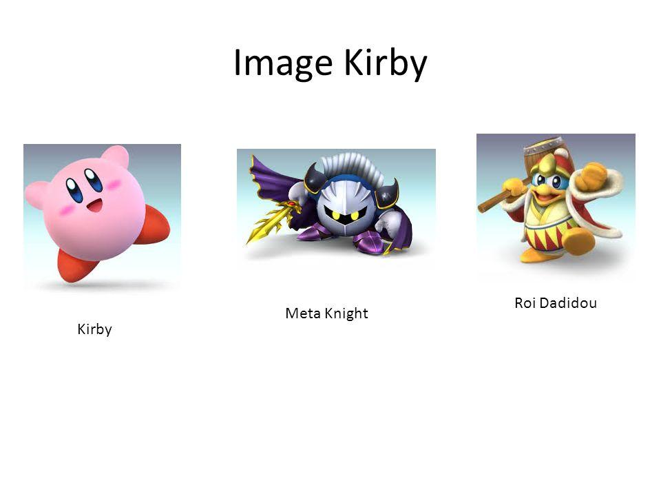 Image Kirby Roi Dadidou Meta Knight Kirby