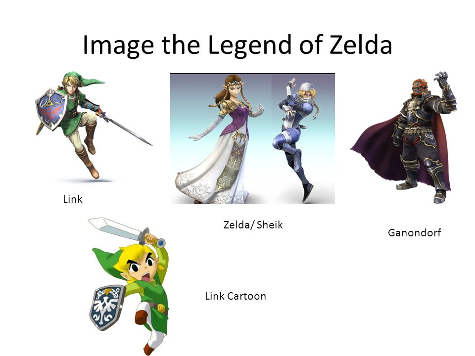 Image the Legend of Zelda