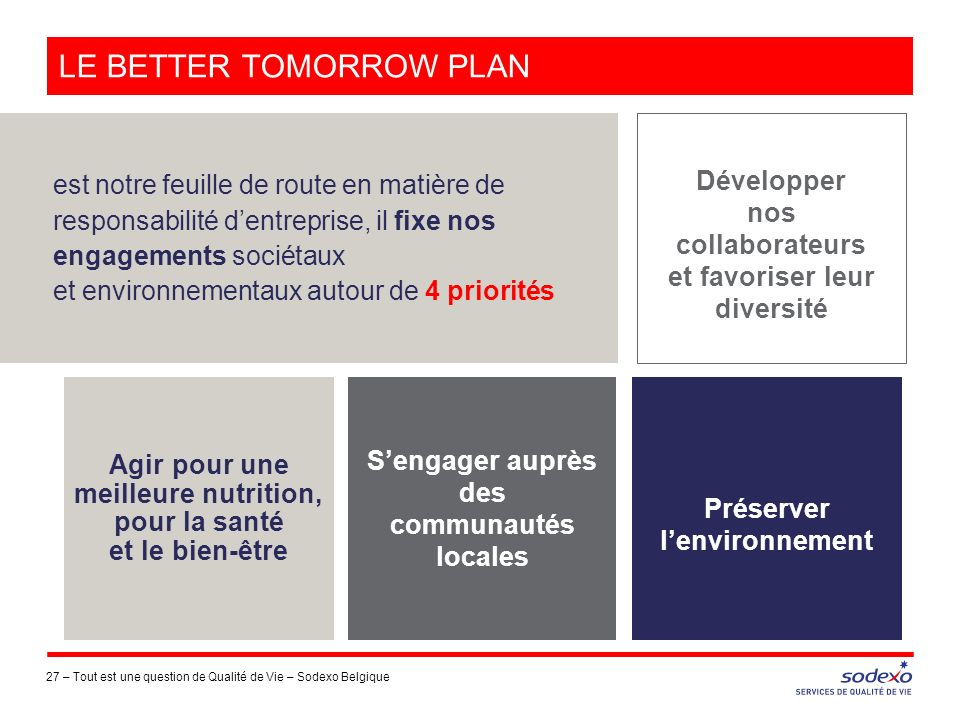 Le better tomorrow plan