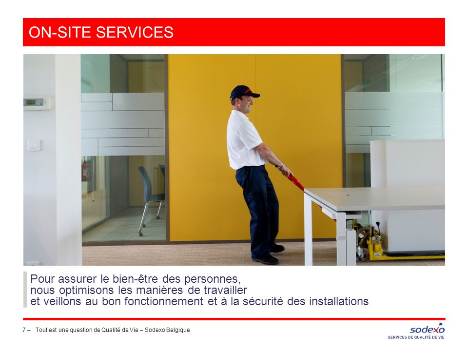 on-site services