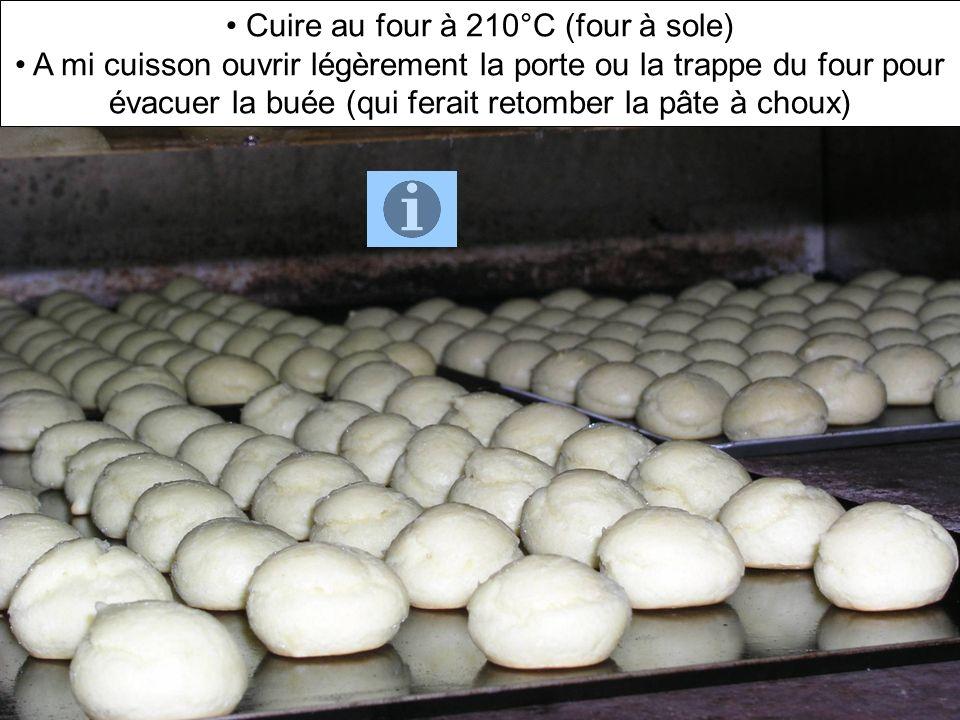 Cuire au four à 210°C (four à sole)