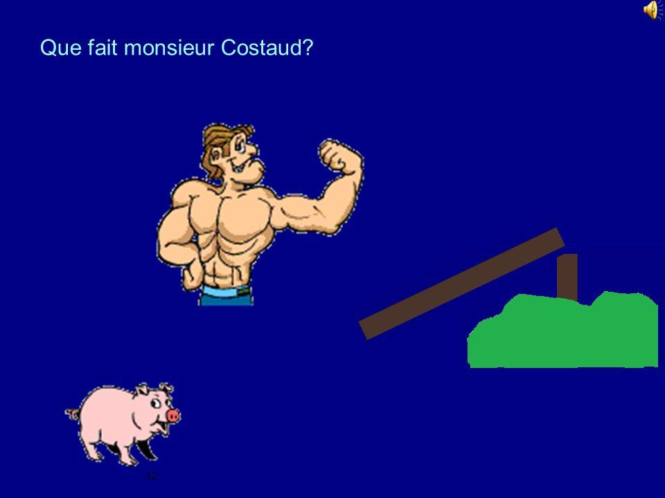 Que fait monsieur Costaud