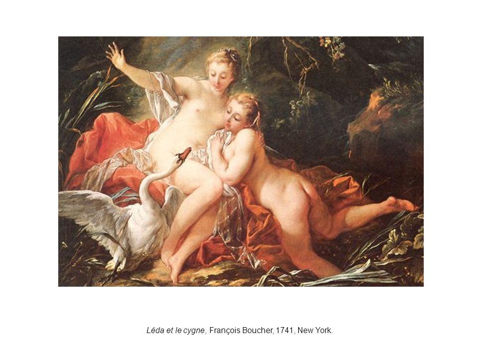 Léda et le cygne, François Boucher, 1741, New York.
