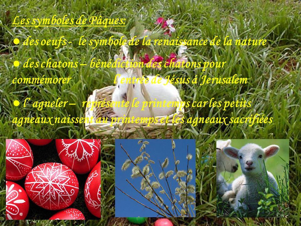 Les symboles de Pâques: