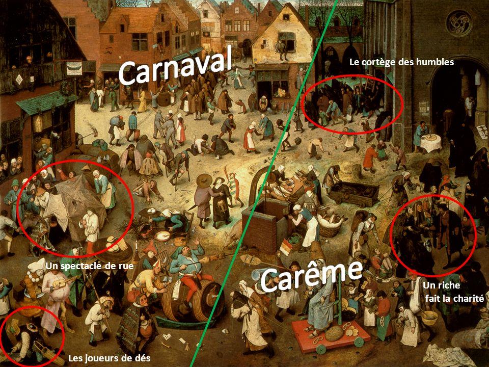 Carnaval Carême Le cortège des humbles Un spectacle de rue Un riche