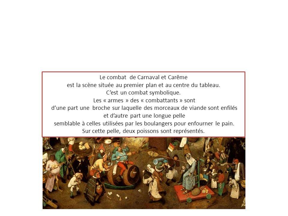 Le combat de Carnaval et Carême