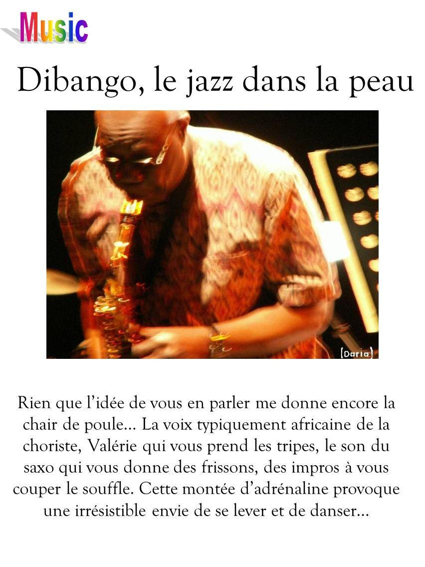 Dibango, le jazz dans la peau