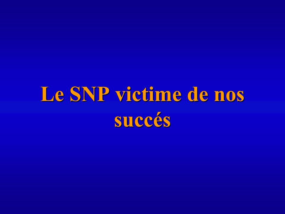 Le SNP victime de nos succés