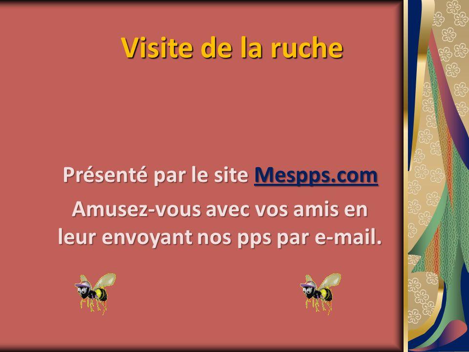 Visite de la ruche Présenté par le site Mespps.com