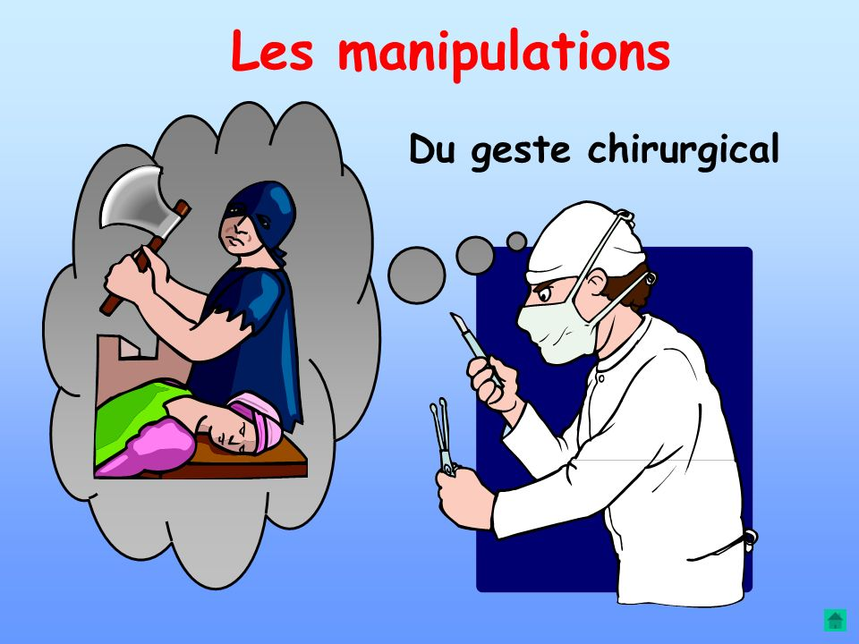 Les manipulations Du geste chirurgical