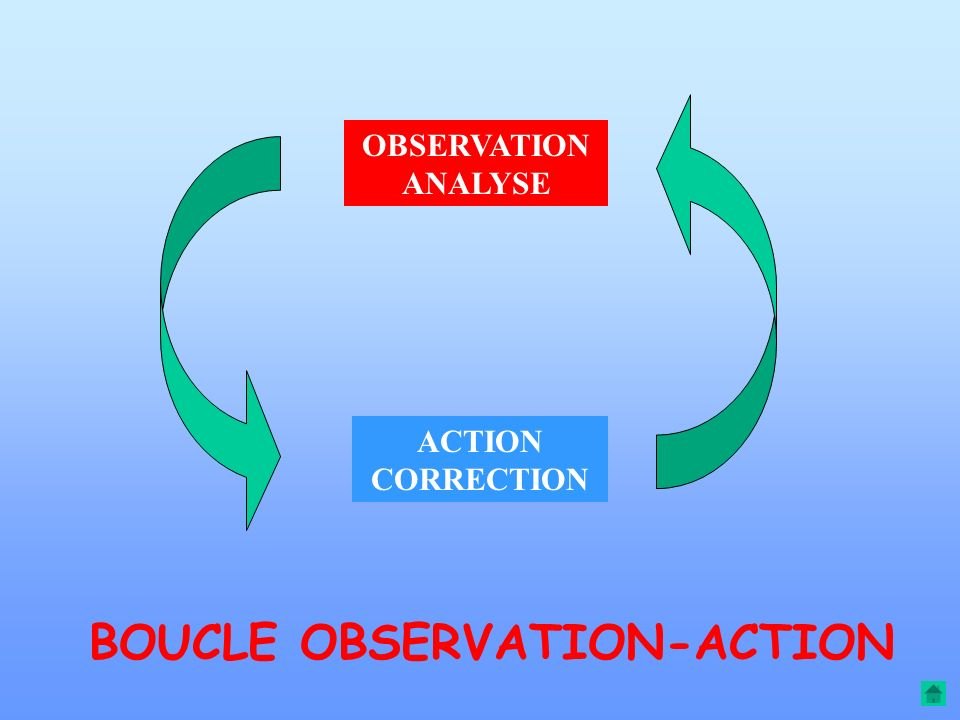 BOUCLE OBSERVATION-ACTION