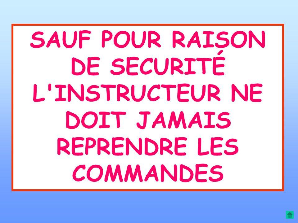 SAUF POUR RAISON DE SECURITÉ