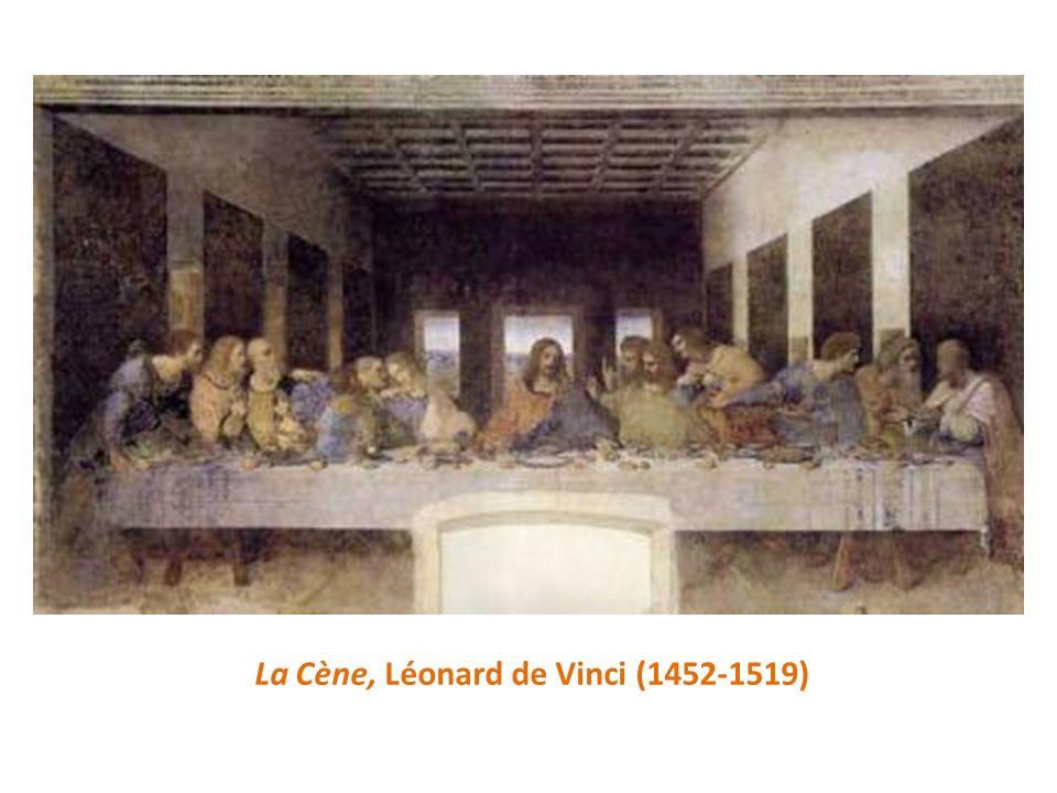 La Cène, Léonard de Vinci (1452-1519)