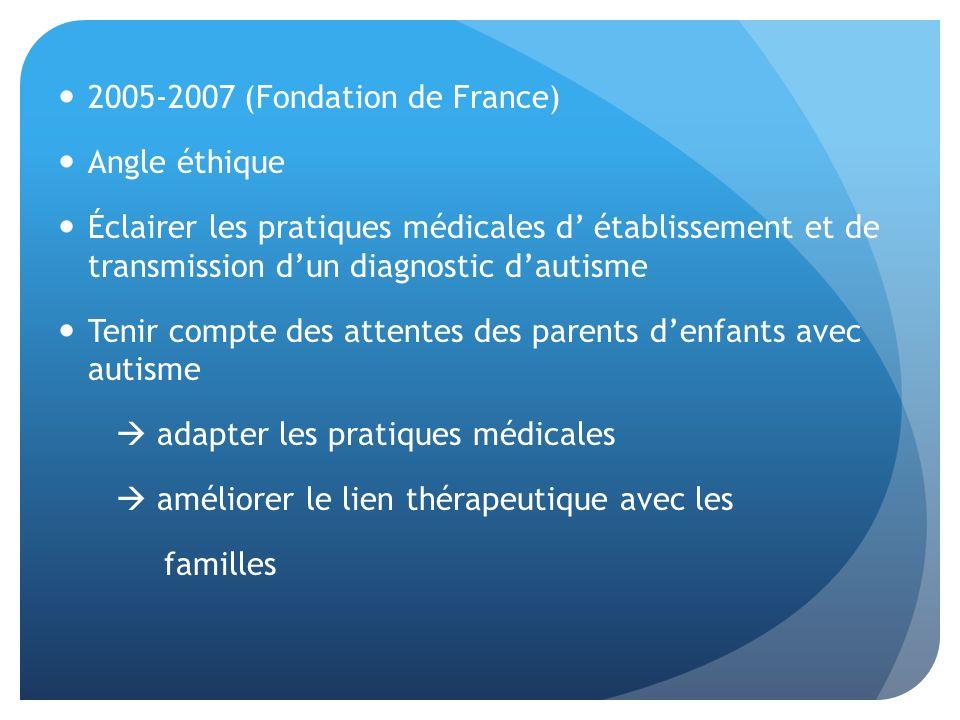 2005-2007 (Fondation de France)