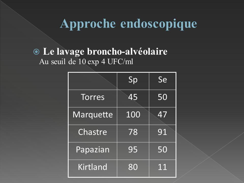 Approche endoscopique