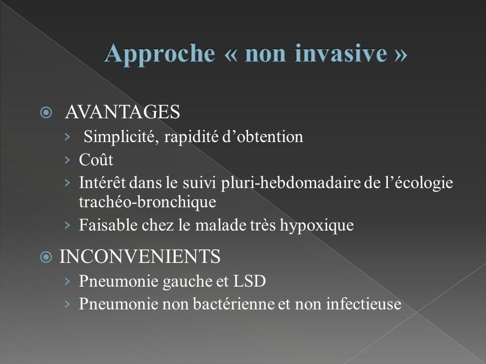 Approche « non invasive »
