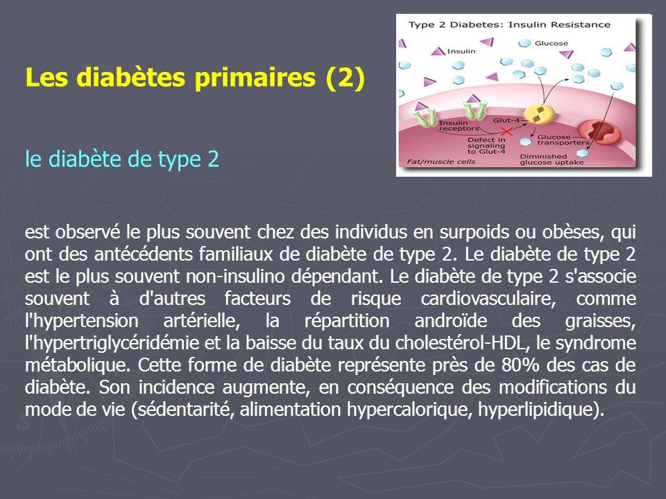 Les diabètes primaires (2)