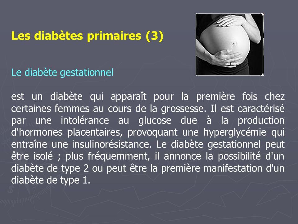 Les diabètes primaires (3)