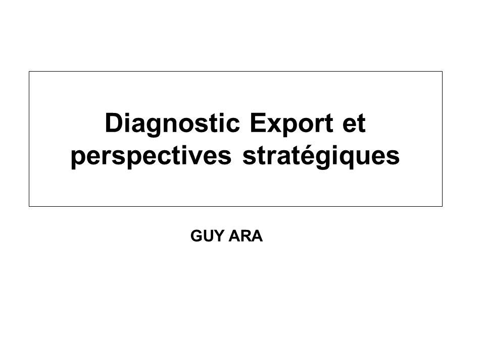 Diagnostic Export et perspectives stratégiques