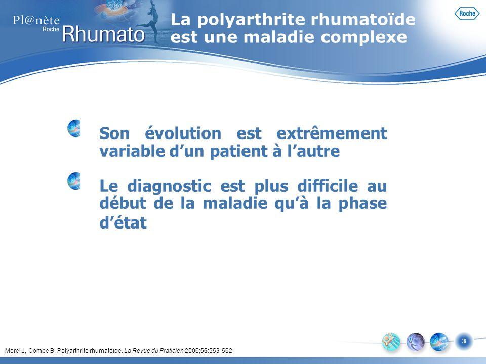 La polyarthrite rhumatoïde est une maladie complexe