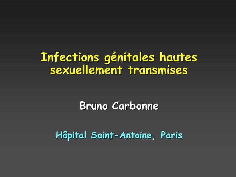 Infections génitales hautes sexuellement transmises