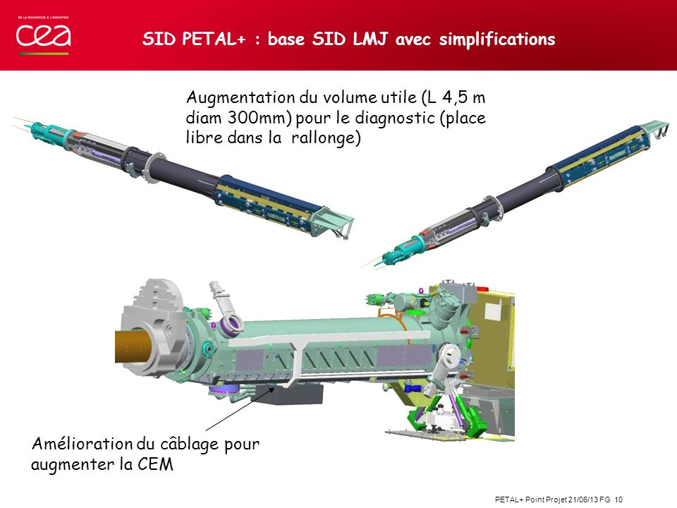 SID PETAL+ : base SID LMJ avec simplifications