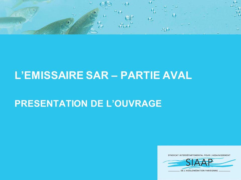 L'EMISSAIRE SAR – PARTIE AVAL PRESENTATION DE L'OUVRAGE
