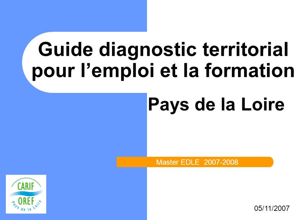 Guide diagnostic territorial pour l'emploi et la formation