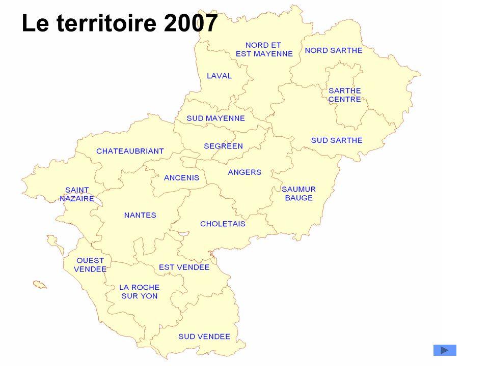 Le territoire 2007 Périmètre
