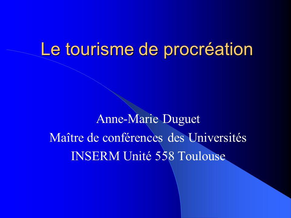 Le tourisme de procréation