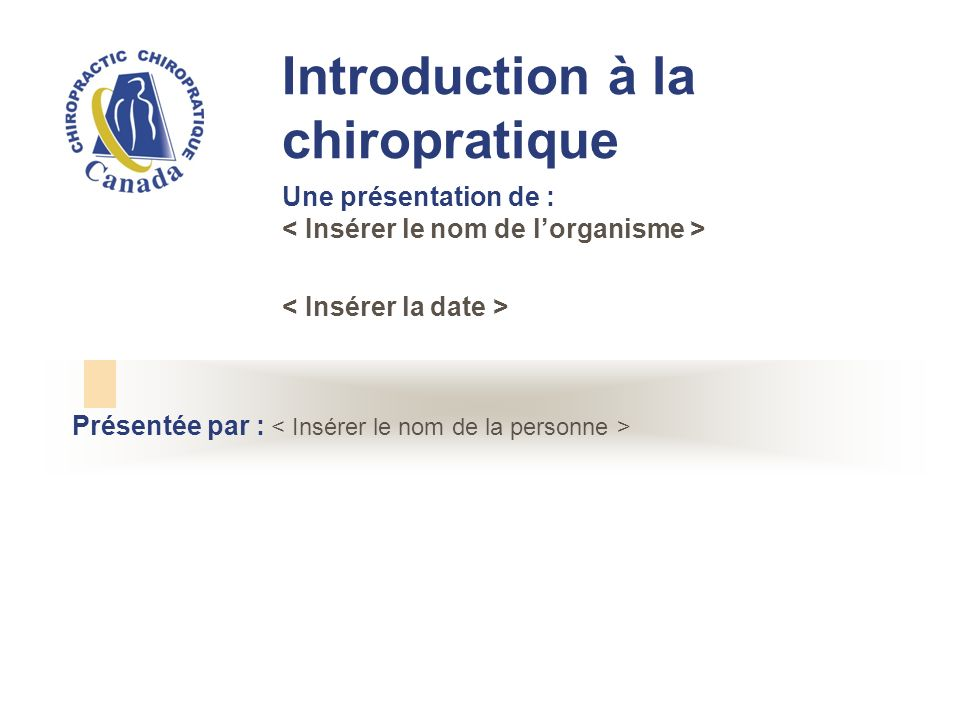 En quoi consiste la chiropratique