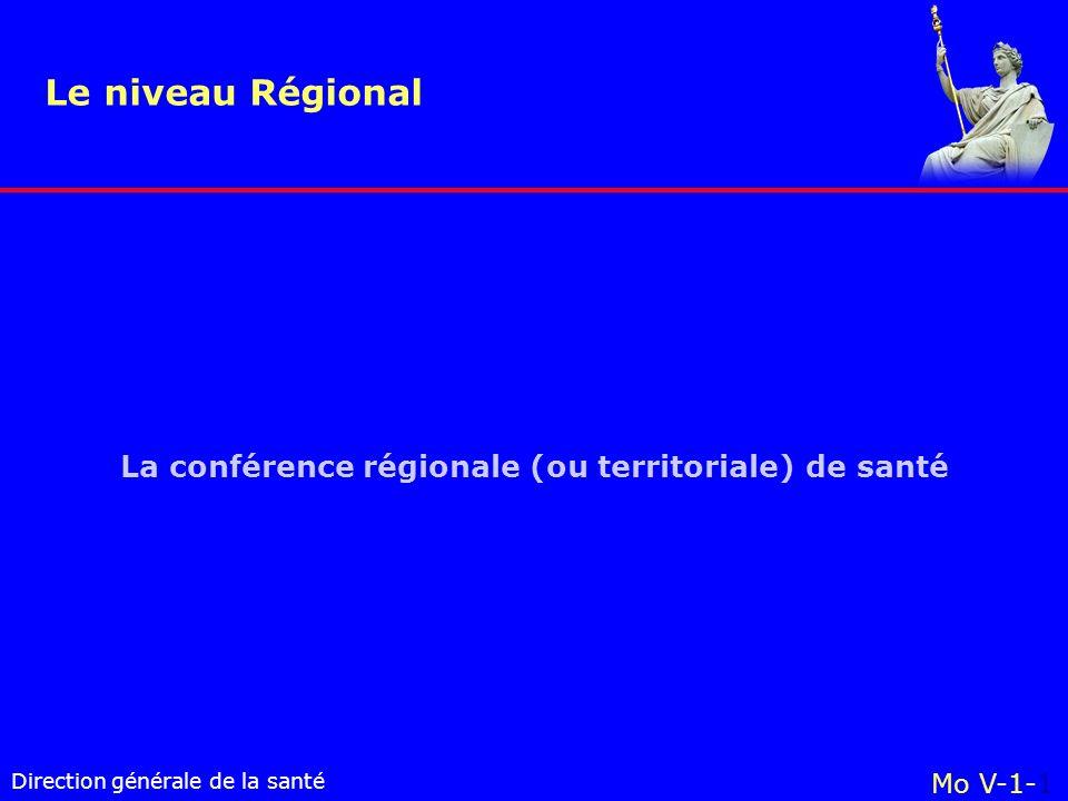 La conférence régionale (ou territoriale) de santé